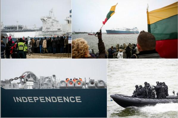 LPG Tanker Independence  came to Lithuania