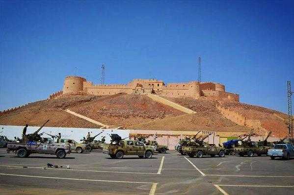 The 3rd Force of Libya Shield has arrived in Obari to stop ongoing tribal clashes Tebu-Tuareg militants (v L.Obser)