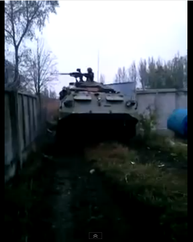 Putin's army firing on Donetsk Airport in new AFV
