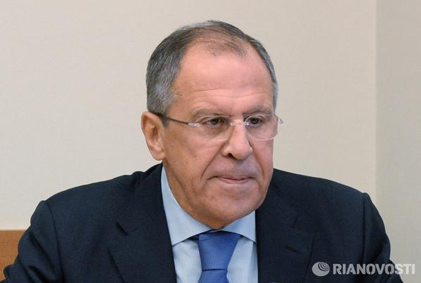 LAVROV: Moscow recognizes election results in Ukraine