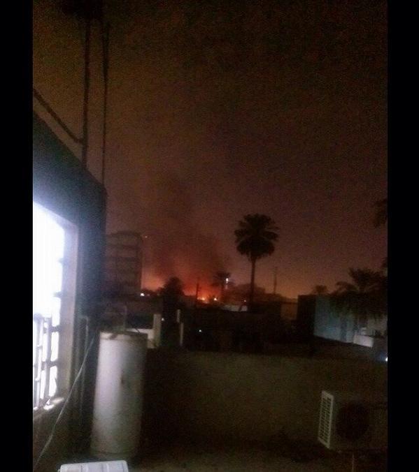 An explosion rocks al-Karadah district Baghdad