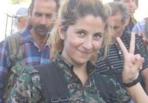 ISIS beheads famous Kurdish female fighter Rehana