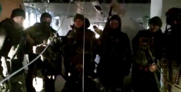 The cyborgs still hold Donetsk