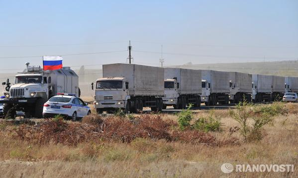 Russia to send some 50 humanitarian aid trucks to Ukraine on Tuesday - Russia's Emergencies Ministry