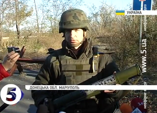 Ukrainian forces find Russian invaders' weapons cache in Mariupol