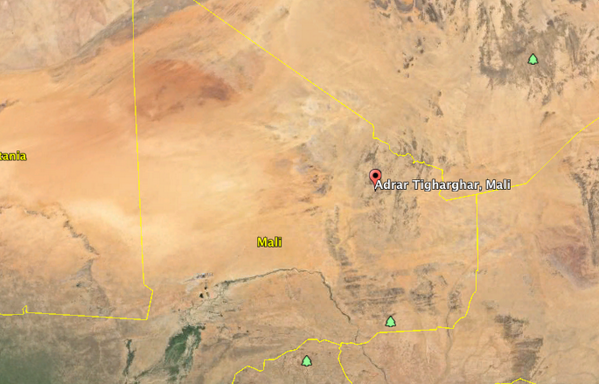 Heavy clashes between French Army and Jihadis in Northern Mali, in the mountains of Tigharghar occured today