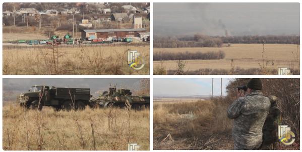 Battles at Krymske Luhansk region