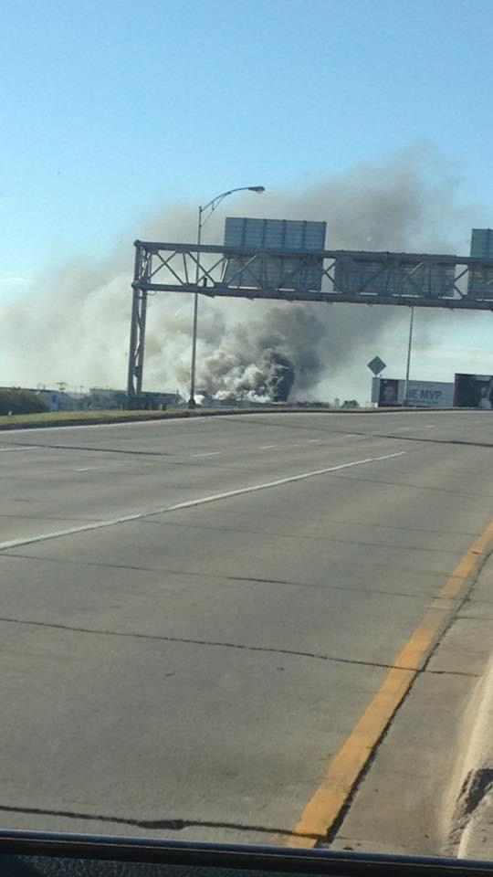 A plane has crashed near Wichita's @FlyICT airport