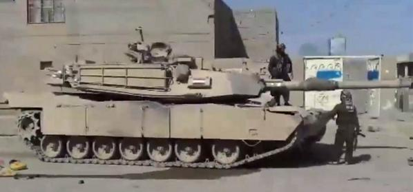 ISIS captured M1 Abrams MBT in Ramadi, Iraq - damage/serviceability  unknown