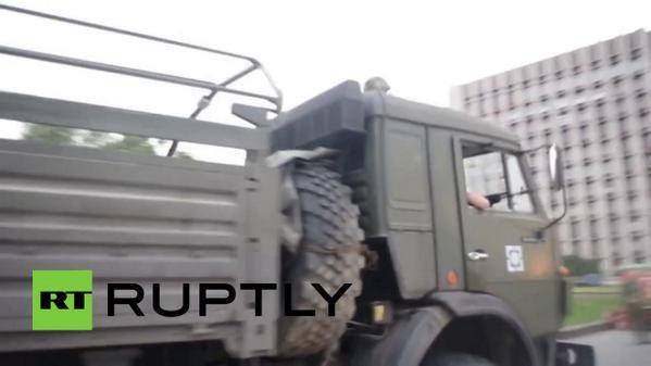 In Donetsk today Russian regular army unit 16544 (Borzoy, Chechnya) spotted.
