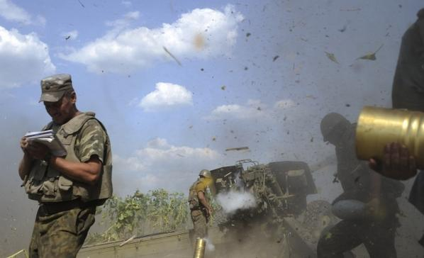 Militants shelled checkpoint 31