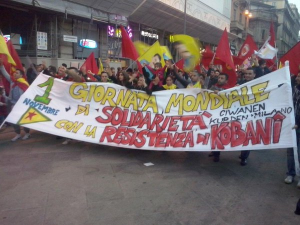 Milan with the resistance of Kobane