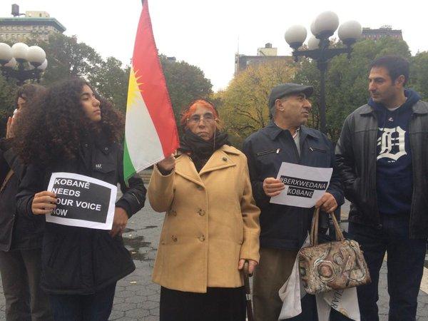 New New York protest in support of Kobane