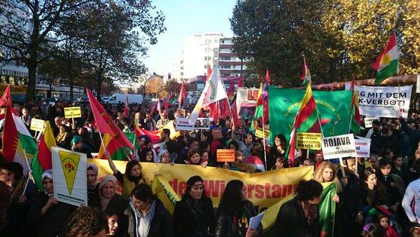 World Kobane Day in Berlin