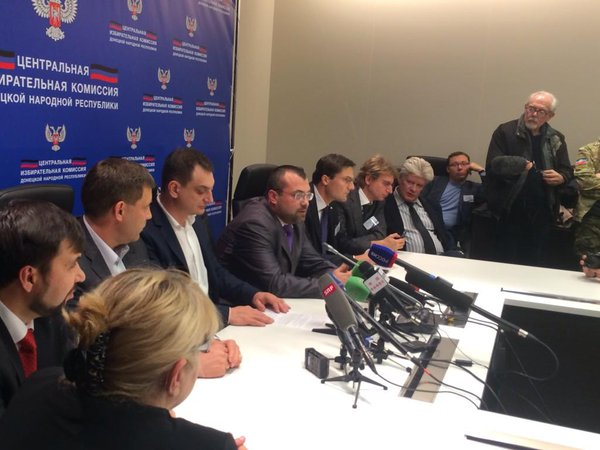 The head of the DNR elections comission Roman Lygin: processed >50% of the ballots. Zakharchenko - 70%