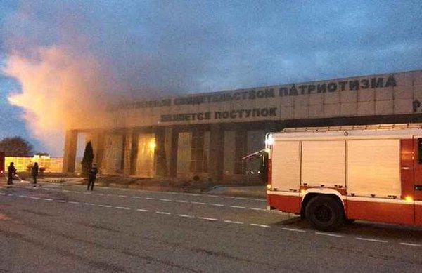 Caucasian guerrillas torched Kadyrov airport in Johar (Grozny)