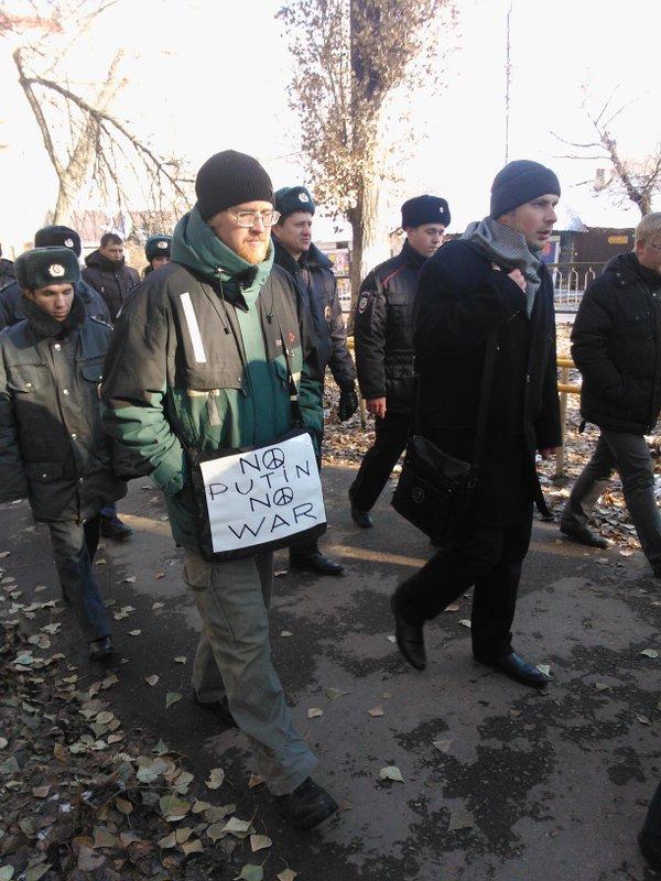 No Putin - no war. Russian peace March in Saratov