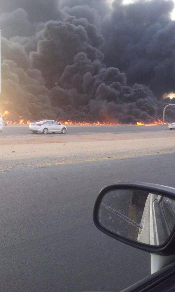Pipeline explosion in Saudi Arabia