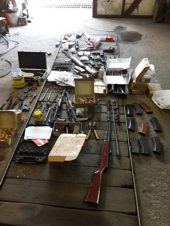 Police closed the channel of of weapons supply from the ATO zone to Zaporizhia