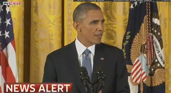 President Obama makes statement at White House after Midterms results