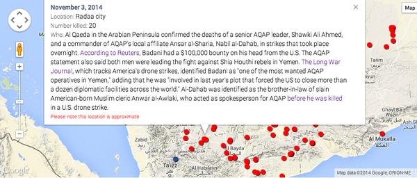 A senior leader of AQAP &; a commander of Ansar al-Sharia were killed in drone strikes in Yemen