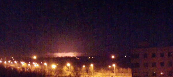 Heavy explosions in Donetsk airport