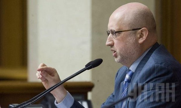 There is only one format to negotiate with militants: to liberate occupied territories - Turchynov
