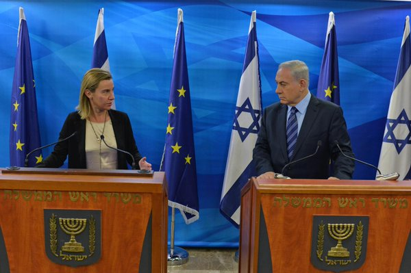 PM Netanyahu met today with Federica Mogherini High Representative of the EU for Foreign Affairs & Security Policy.