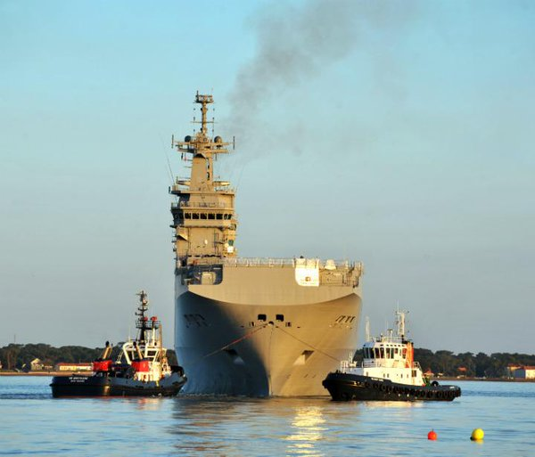 Congress to France: sell your warships to NATO, not Russia.