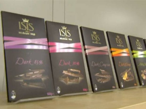Belgium chocolate maker ISIS changes its name after drop in sales