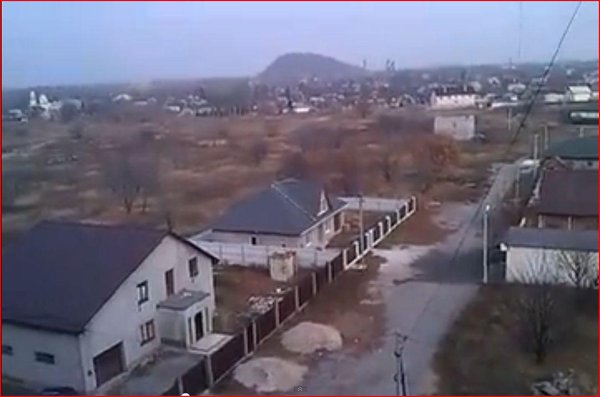 Shelling in Petrovsky District Donetsk today