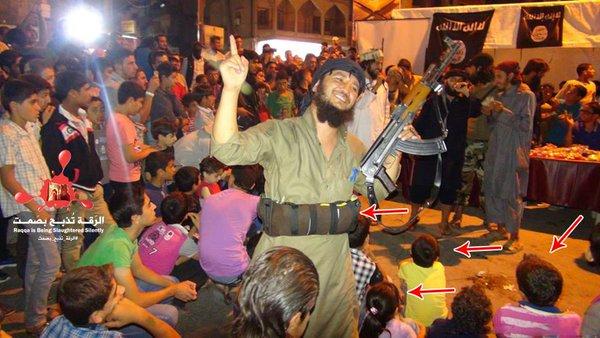 ISIS soldier Puts Explosive belt In concert with lot of children