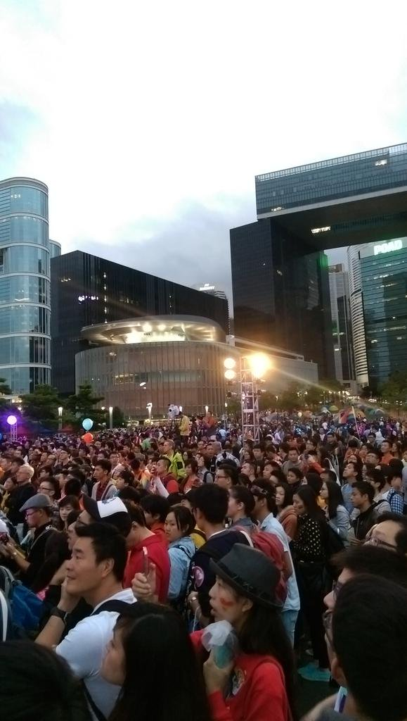 Today  were 8900 participants at HkPride 2014