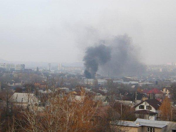 View from Malakhova towards Kuprina. Donetsk