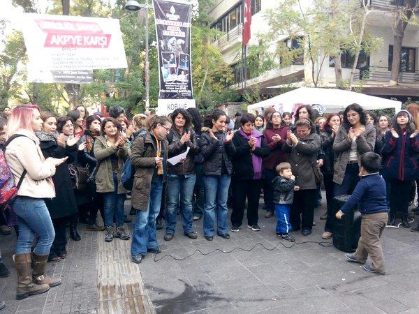 Rally of Women's Platform in Ankara