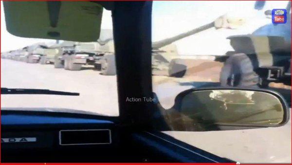 Russia convoy 80 veh in Russia before enter Ukraine today