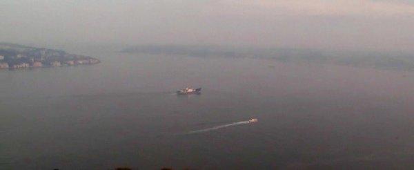 Moma class Russian intelligence gathering ship Kildin Project 861M transited the Bosphorus northbound 5:15aUTC