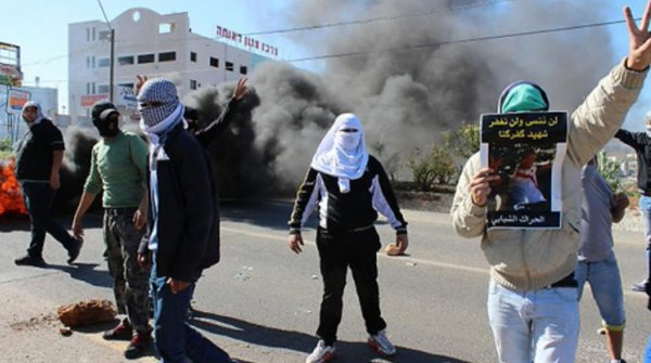Serious clashes in Kfar Kana for 2nd day, following death of 22 y/o Palestinian shot by police Friday.