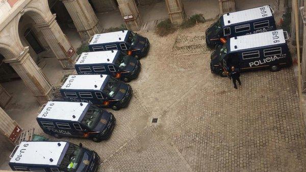 Police prepared for possible clashes in Catalonia