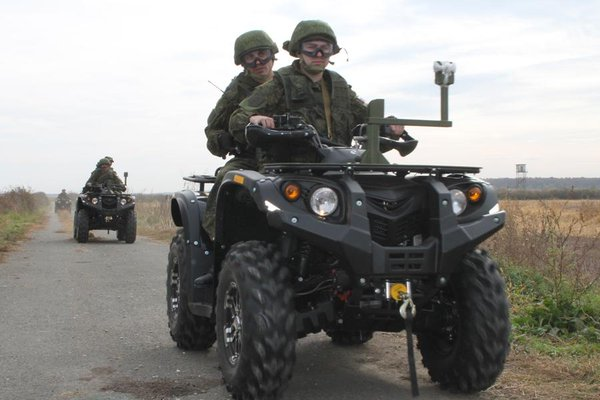 Russian airborne unit arrived in Serbia for drills