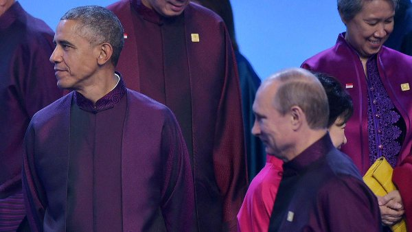 Obama and Putin spoke briefly in Beijing today: