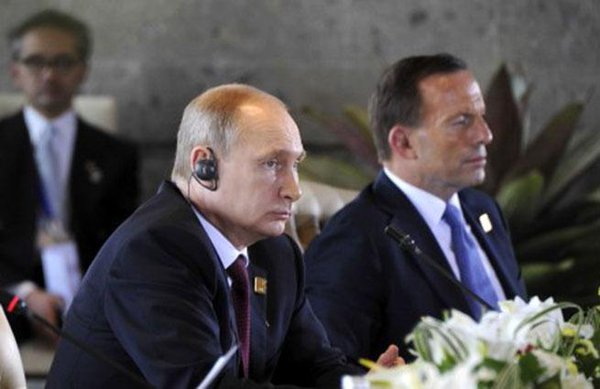 Putin talked with the PM of Australia about MH17 disaster