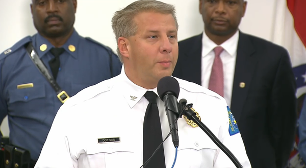 Chief of SLPD: Officers recognize, will protect free speech, but acts of violence will not be tolerated. Ferguson