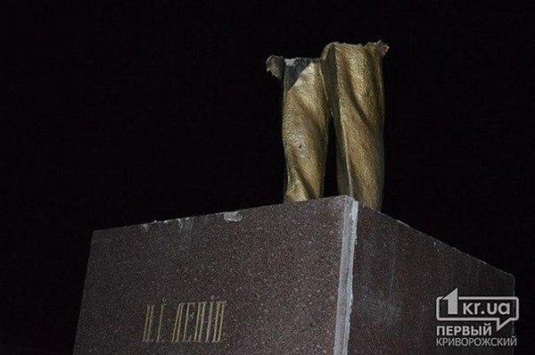 Last Lenin statue was toppled in Kryvyi Rih