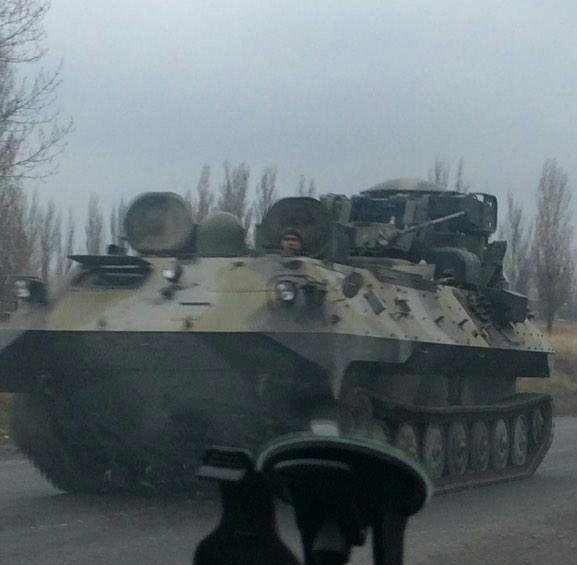 Russia moves 1L219M Zoopark-1M systems to Donbas. Seen near Torez