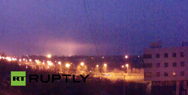 Shelling of Donetsk airport continues