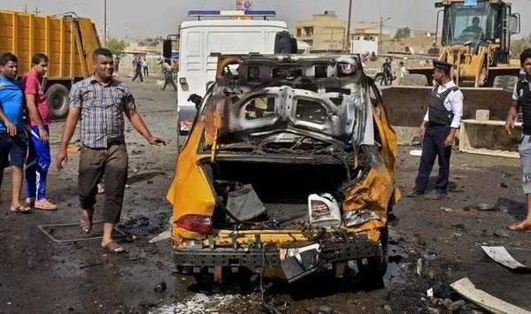 Car bombings in Al-Bawiya neighborhood in Baghdad. 6 reported killed and 10 others wounded