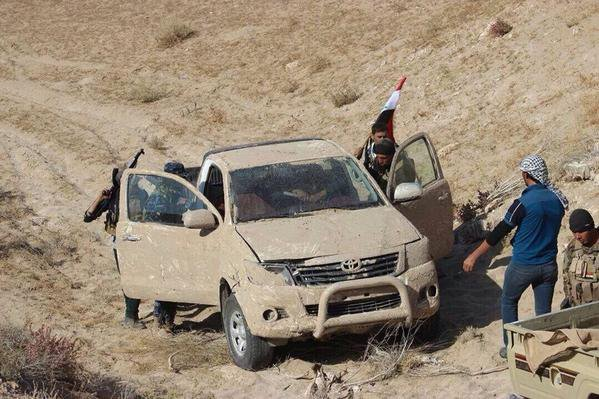 Clan Anbar & Iraqi army clean up areas in Anbar