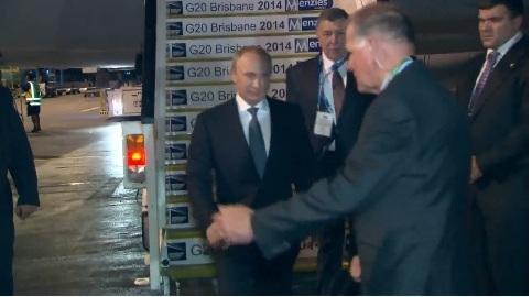 Putin in Australia