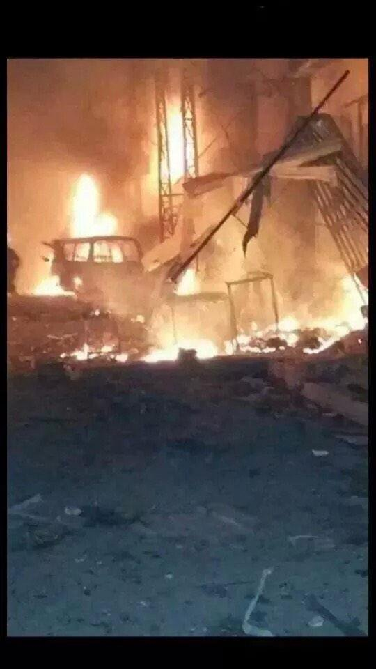 Al-Kreeat area car bombing in Baghdad Iraq